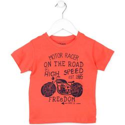 Odjeća Djeca Majice kratkih rukava Losan 715 1215AC Naranča