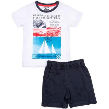 Odjeća Dječak  Dječji kompleti Losan 715 8042AC Bijela