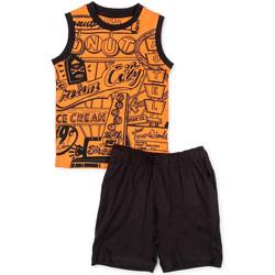 Odjeća Dječak  Dječji kompleti Losan 715 8043AC Naranča