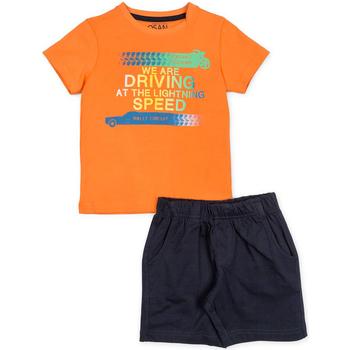 Odjeća Dječak  Dječji kompleti Losan 715 8047AC Naranča