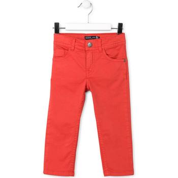 Odjeća Djeca Hlače s pet džepova Losan 715 9650AC Crvena