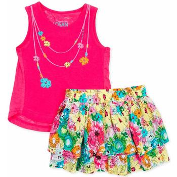 Odjeća Djevojčica Dječji kompleti Losan 716 8001AD Ružičasta