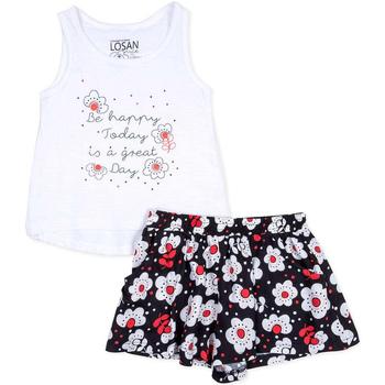 Odjeća Djevojčica Dječji kompleti Losan 716 8013AD Bijela