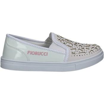 Obuća Djevojčica Slip-on cipele Fiorucci FKEO044 Bijela