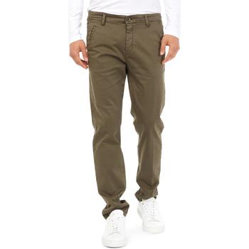 Odjeća Muškarci  Chino hlačei hlače mrkva kroja Gas 360704 Zelena