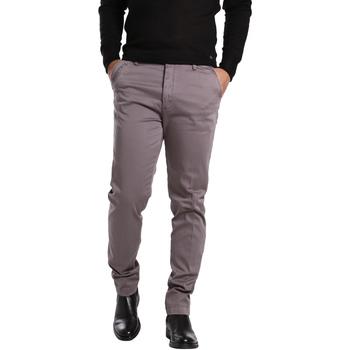 Odjeća Muškarci  Chino hlačei hlače mrkva kroja Gas 360704 Siva