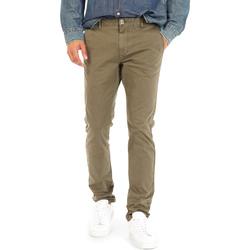 Odjeća Muškarci  Chino hlačei hlače mrkva kroja Gas 360702 Zelena