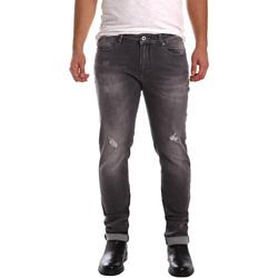 Odjeća Muškarci  Slim traperice Gaudi 721FU26001 Crno