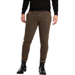 Odjeća Muškarci  Chino hlačei hlače mrkva kroja Gaudi 721BU25007 Smeđa