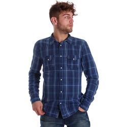 Odjeća Muškarci  Košulje dugih rukava Gaudi 721BU46005 Plava