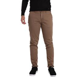 Odjeća Muškarci  Chino hlačei hlače mrkva kroja Gaudi 721BU25006 Smeđa
