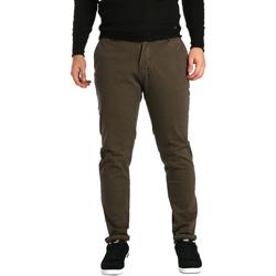 Odjeća Muškarci  Chino hlačei hlače mrkva kroja Gaudi 721BU25014 Smeđa