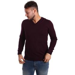 Odjeća Muškarci  Puloveri Gaudi 721BU53019 Ljubičasta