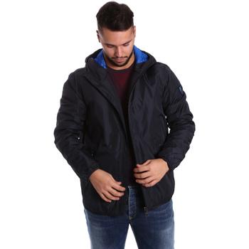 Odjeća Muškarci  Pernate jakne Ea7 Emporio Armani 6YPB34 PN02Z Plava