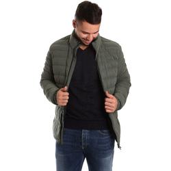 Odjeća Muškarci  Pernate jakne Ea7 Emporio Armani 6YPB23 PNB7Z Zelena