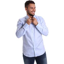 Odjeća Muškarci  Košulje dugih rukava Gmf 972903/02 Plava