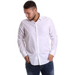 Odjeća Muškarci  Košulje dugih rukava Gmf 972156/03 Bijela