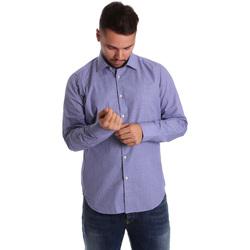 Odjeća Muškarci  Košulje dugih rukava Gmf 972160/04 Plava
