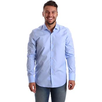 Odjeća Muškarci  Košulje dugih rukava Gmf 972900/03 Plava