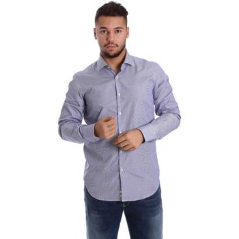 Odjeća Muškarci  Košulje dugih rukava Gmf 972906/04 Plava