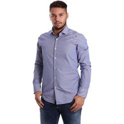 Odjeća Muškarci  Košulje dugih rukava Gmf 972908/04 Plava