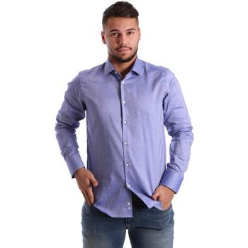 Odjeća Muškarci  Košulje dugih rukava Gmf 972103/05 Plava