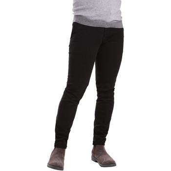 Odjeća Muškarci  Chino hlačei hlače mrkva kroja Sei3sei PZV21 7275 Crno