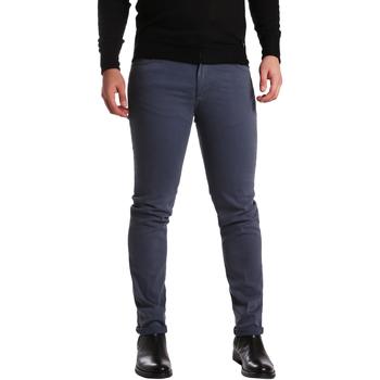 Odjeća Muškarci  Hlače s pet džepova Sei3sei PZV16 7239 Plava
