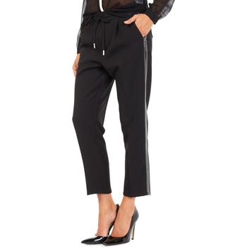 Odjeća Žene  Chino hlačei hlače mrkva kroja Gas 365777 Crno