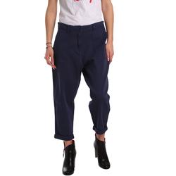 Odjeća Žene  Chino hlačei hlače mrkva kroja Tommy Hilfiger DW0DW02588 Plava