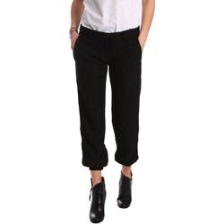 Odjeća Žene  Chino hlačei hlače mrkva kroja Denny Rose 721DD20026 Crno
