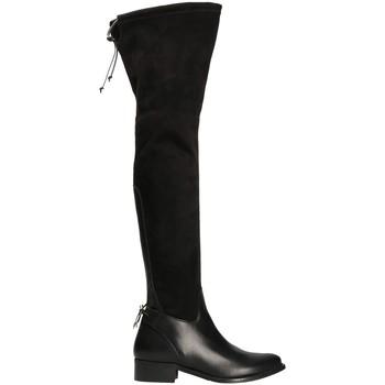 Obuća Žene  Čizme iznad koljena Mally 6077-1 Crno