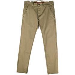 Odjeća Muškarci  Chino hlačei hlače mrkva kroja Gaudi 811FU25033 Zelena