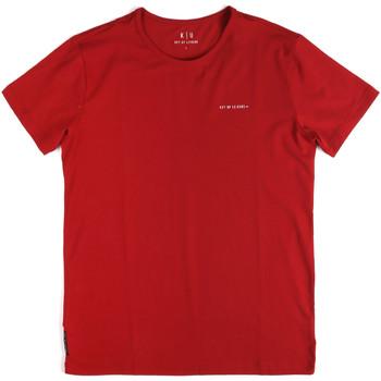 Odjeća Muškarci  Majice kratkih rukava Key Up 2G69S 0001 Crvena