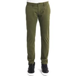 Odjeća Muškarci  Chino hlačei hlače mrkva kroja Gaudi 821BU25007 Zelena