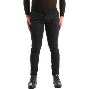 Odjeća Muškarci  Chino hlačei hlače mrkva kroja Gaudi 821FU25013 Siva