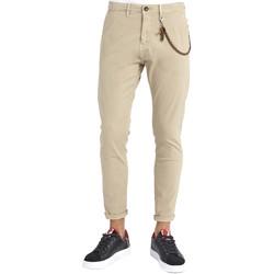 Odjeća Muškarci  Chino hlačei hlače mrkva kroja Gaudi 911BU25002 Bež