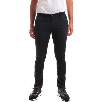 Odjeća Muškarci  Chino hlačei hlače mrkva kroja Gaudi 911BU25007 Plava