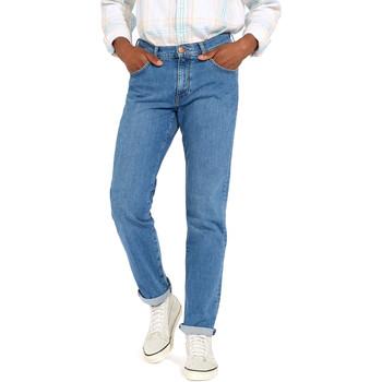 Odjeća Muškarci  Traperice ravnog kroja Wrangler W12OM440D Plava