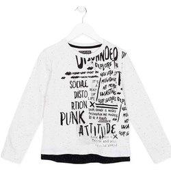 Odjeća Djeca Majice dugih rukava Losan 723 1005AA Bijela
