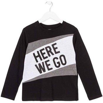 Odjeća Djeca Majice dugih rukava Losan 723 1020AA Crno
