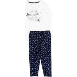 Odjeća Djevojčica Dječji kompleti Losan 726 8003AD Bijela