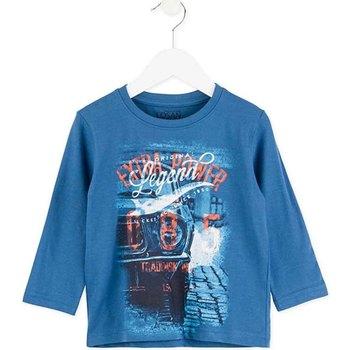 Odjeća Djeca Majice dugih rukava Losan 725 1203AC Plava