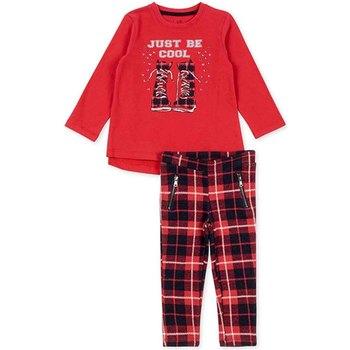 Odjeća Djevojčica Dječji kompleti Losan 726 8013AD Crvena