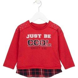 Odjeća Djevojčica Sportske majice Losan 726 1026AD Crvena