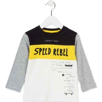 Odjeća Djeca Majice dugih rukava Losan 725 1018AC Bijela