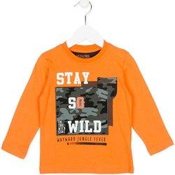 Odjeća Djeca Sportske majice Losan 725 1013AC Naranča