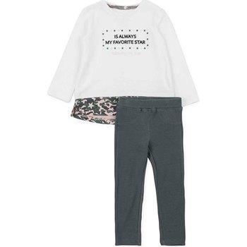 Odjeća Djevojčica Dječji kompleti Losan 726 8036AD Bijela