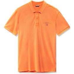 Odjeća Muškarci  Polo majice kratkih rukava Napapijri N0YIJ5 Naranča