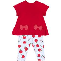 Odjeća Djevojčica Dječji kompleti Chicco 09076397000000 Crvena